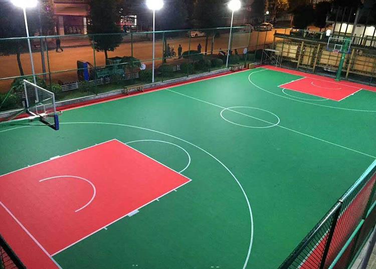 篮球场专用悬浮拼装地板