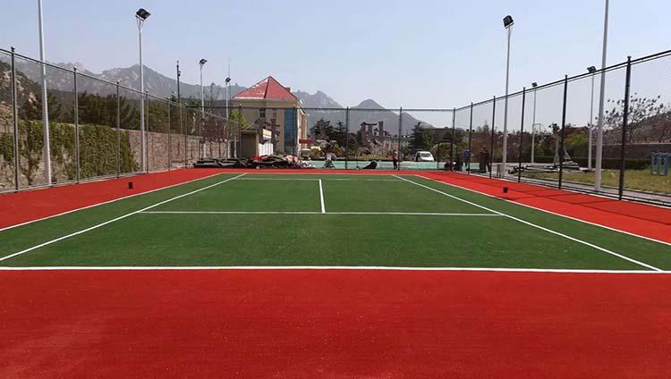网球场地改造案例