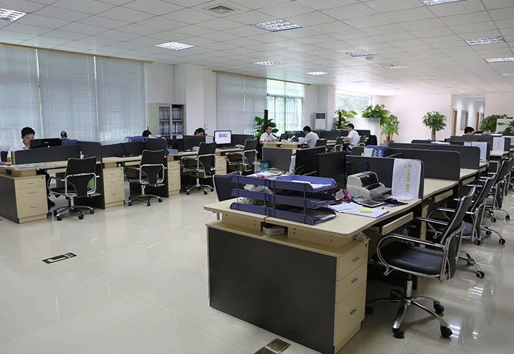 工厂办公室内景