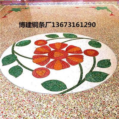 鄭州裝飾銅條工(gong)程案例