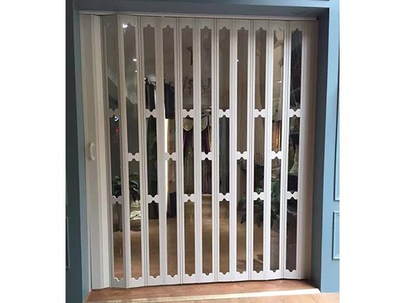 PVC折叠门实用不占地,无需轨道不藏灰,做家务轻松不少!