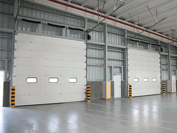 冷库门和保温门之间的区别,四川工业提升门为你分享