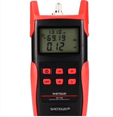 OM-606高精度光功率计光纤测试仪收光器