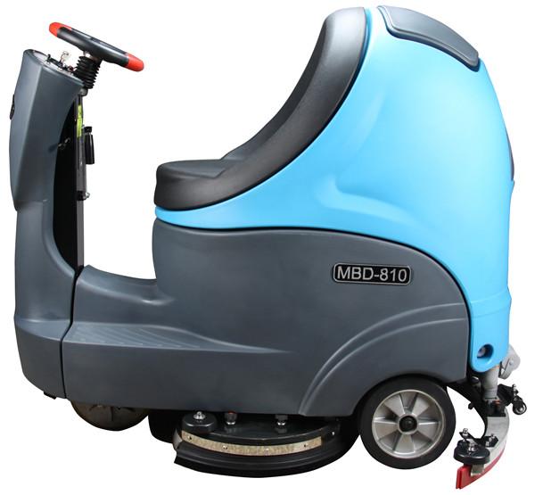 尘易环保洗地机使用案例