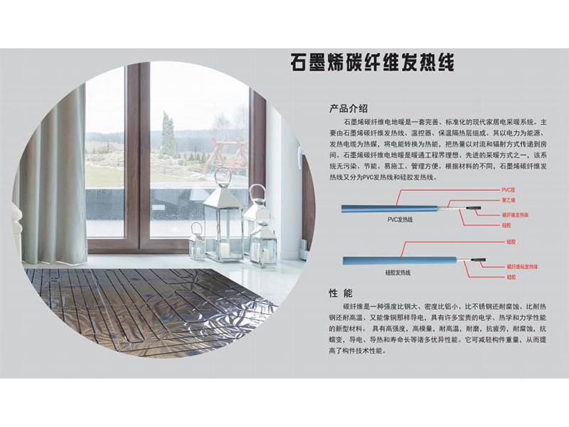 石墨烯碳纤维发热线