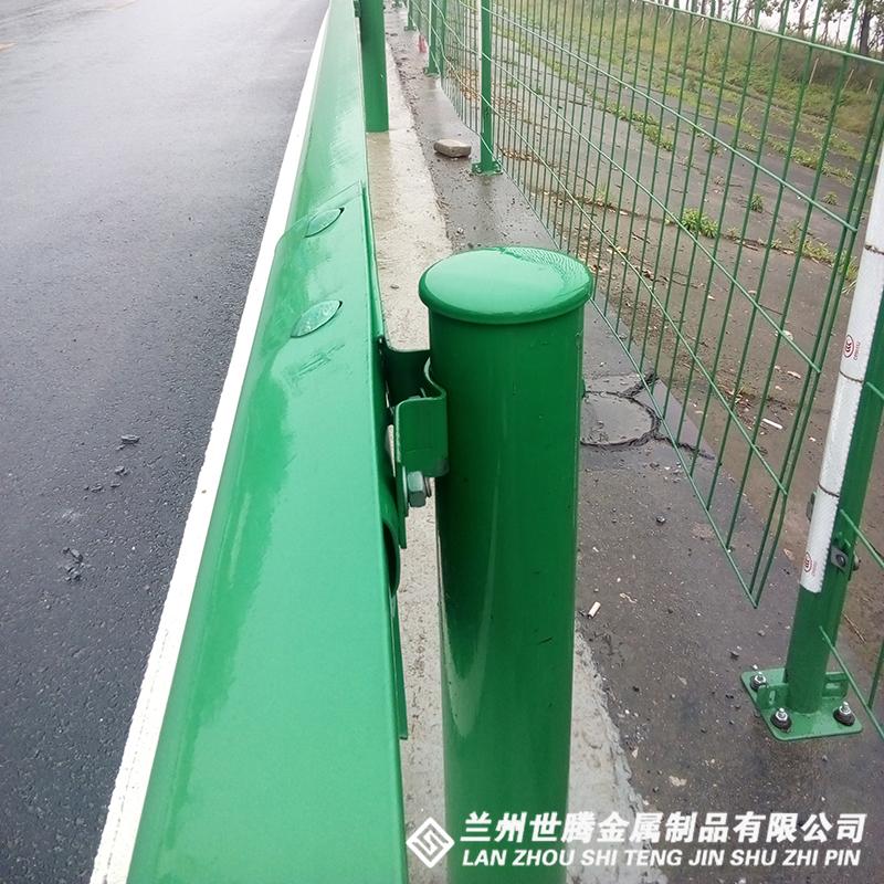 两波喷塑护栏板