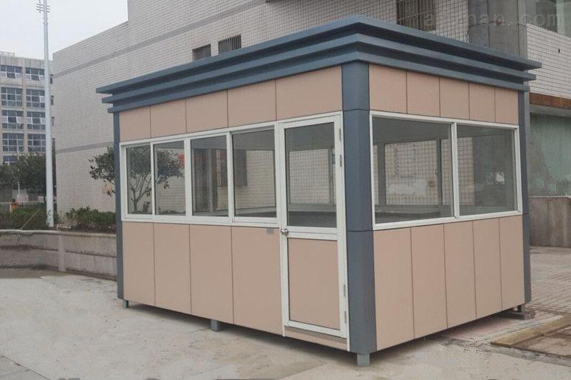 铝塑板岗亭的制作与安装