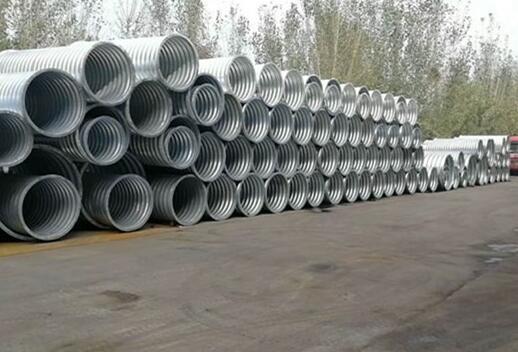 世腾金属制品厂家介绍旱季波纹管涵的施工注意事项
