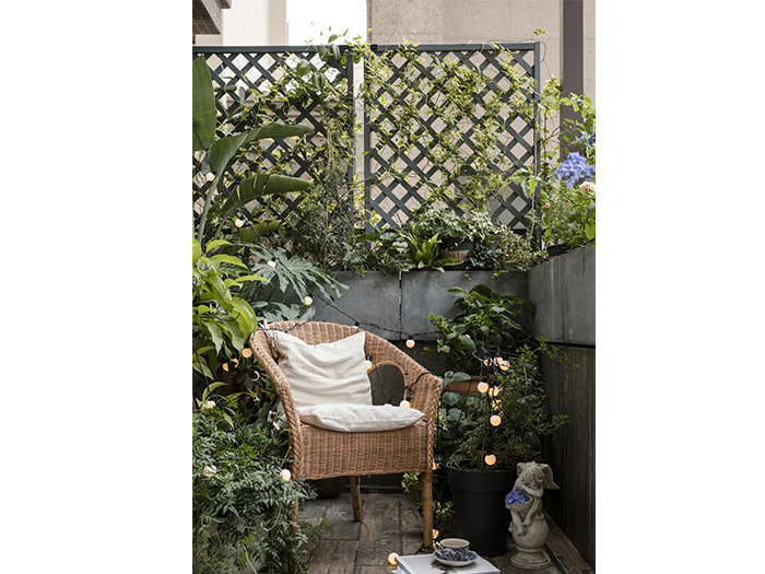小花园型阳台装修