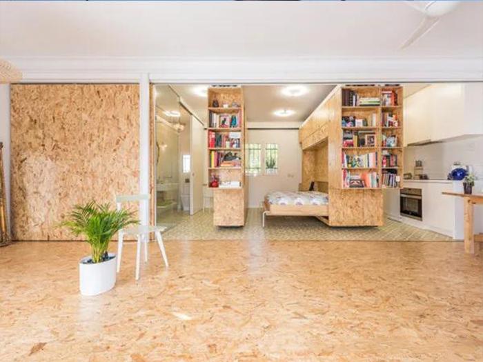 使用千年舟OSB定向刨花板打造时尚的家居