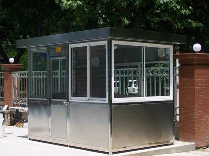 你知道生产一个不锈钢岗亭需要经过哪些程序吗?