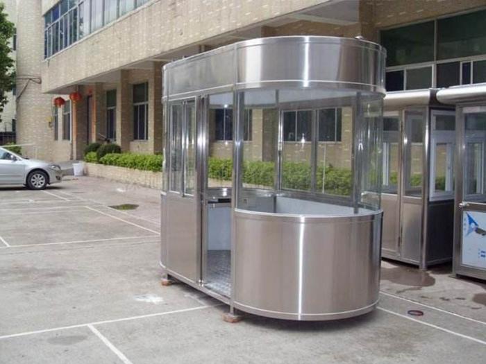 北京不锈钢岗亭材质类型及特点