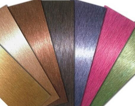 北京不銹鋼彩色裝飾板為什么會出現掉色情況