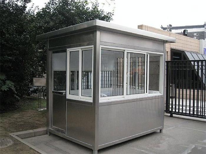 在北京不銹鋼治安崗亭有怎樣的配置呢