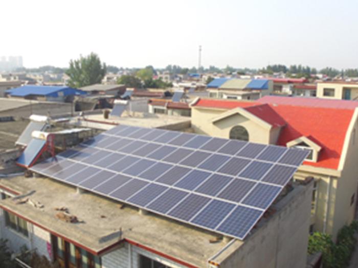 蘭州光伏屋頂發電站安裝項目