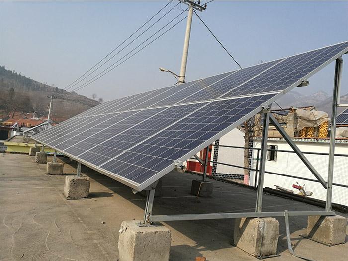 蘭州屋頂光伏電站