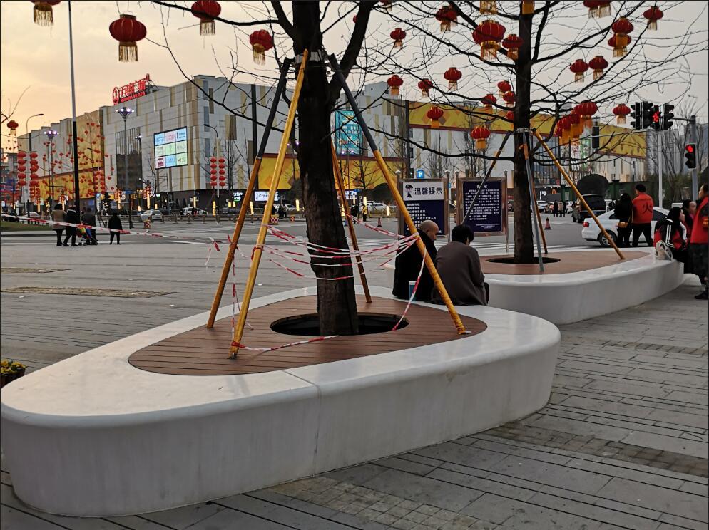 装饰混凝土凳