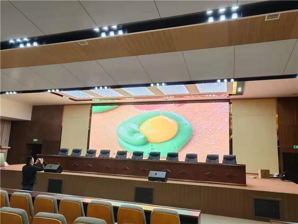 南充某学校40平米P2.5高刷屏