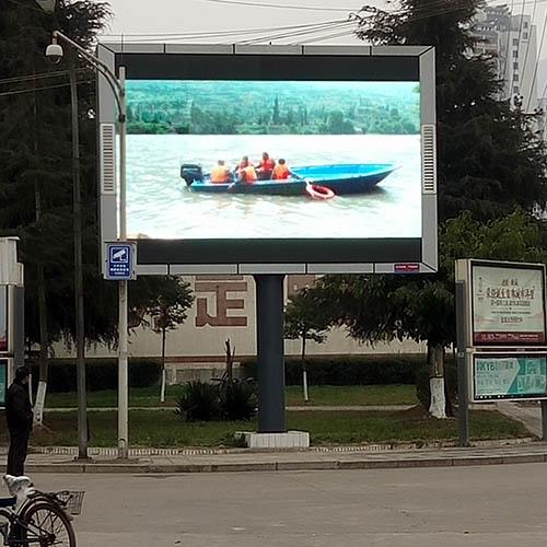 四川LED显示屏客户见证