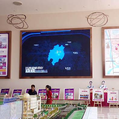 四川全彩LED显示屏客户见证