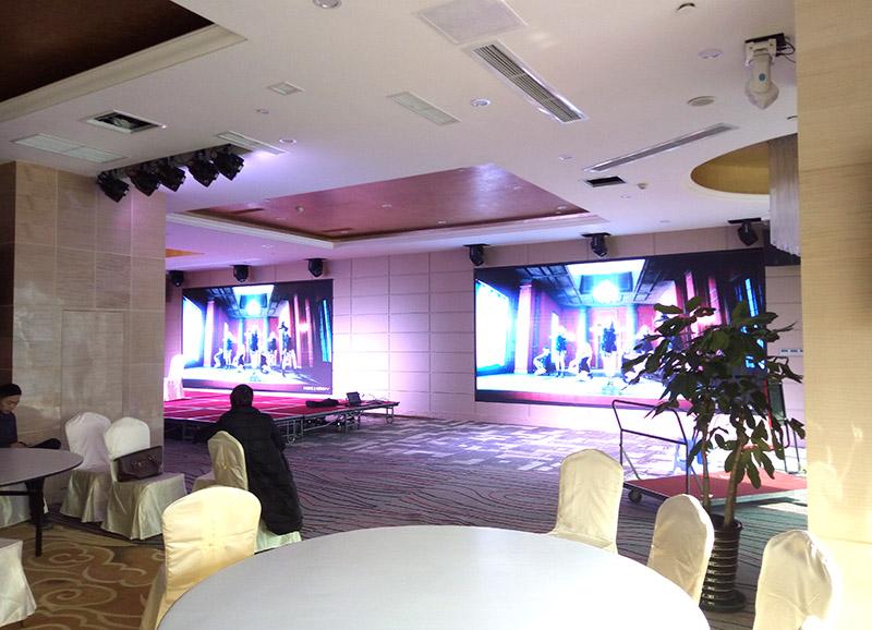 成都LED显示屏案例-成都格蘭汇大酒店