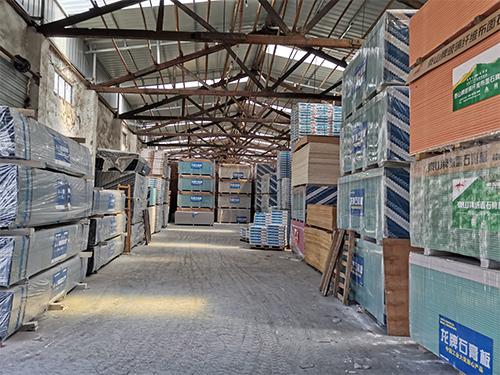 成都龍牌石膏板批發廠家廠區展示