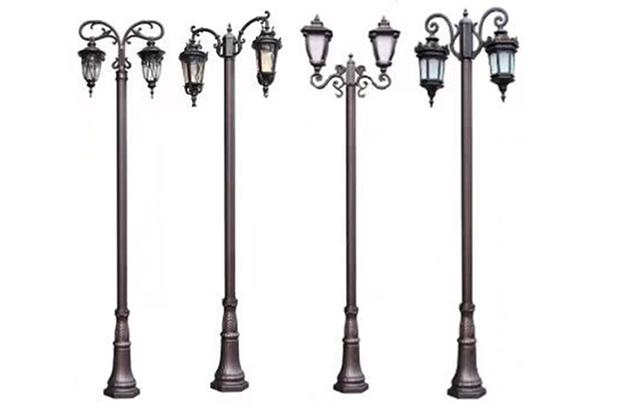 四川雙頭柱庭院燈銷售