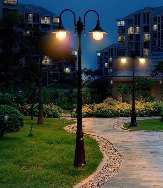四川双头庭院灯