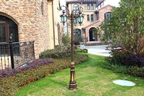在设计四川双头庭院灯需要考虑各方面的问题