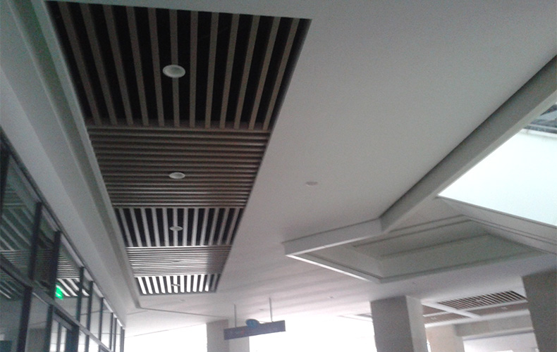 成都吊顶方通及铝板安装工程