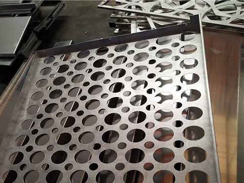 四川铝单板生产厂家厂区环境