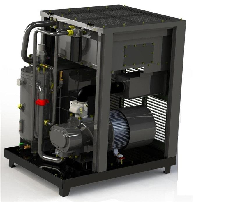 河南久德机电---螺杆空压机的减荷阀怎么清理?