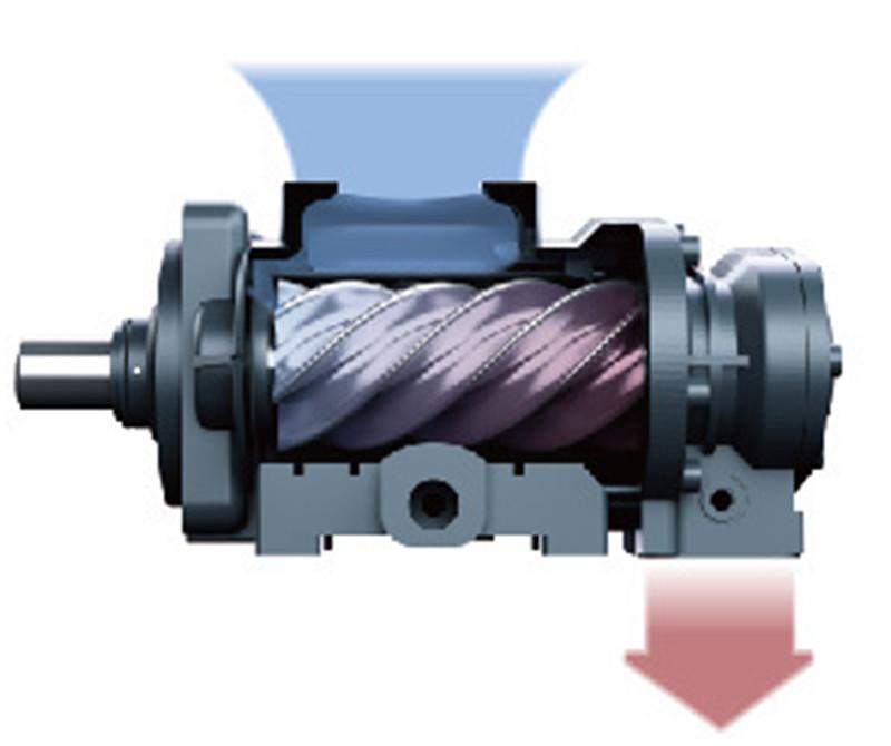 信阳空压机---怎么根据空压机的容积流量和工作压力来选择?