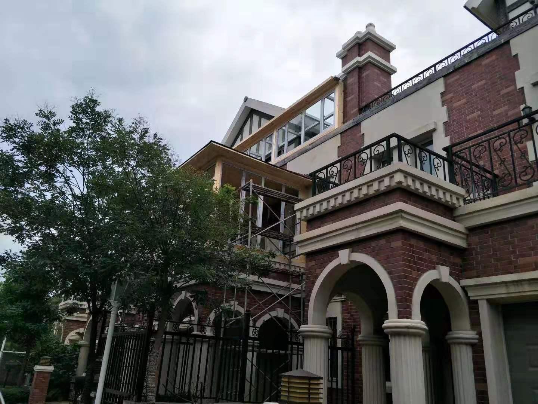 张家口别墅专用仿铜不锈钢门窗