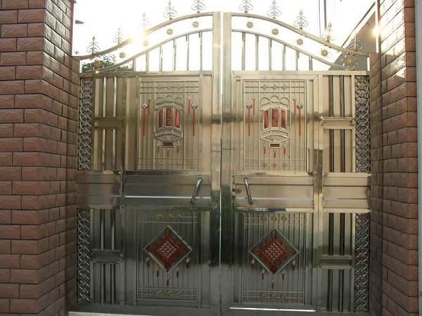 张家口仿铜不绣钢门