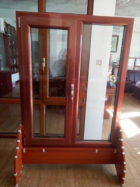 张家口办公区域使用断桥铝门窗系列图