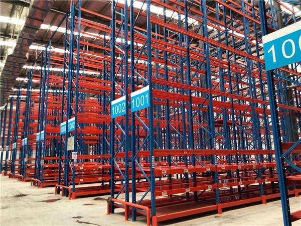 南阳工业货架超市仓库案例