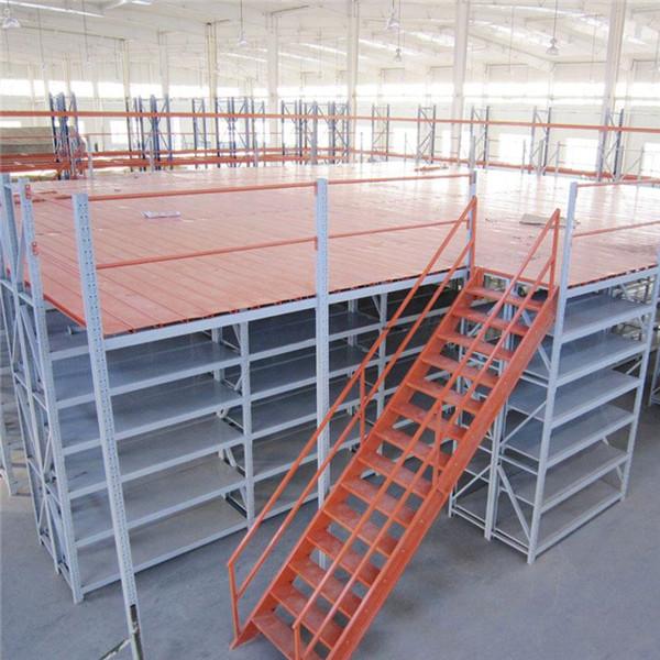 易顺仓储带你了解阁楼式货架的结构组成及优势特点