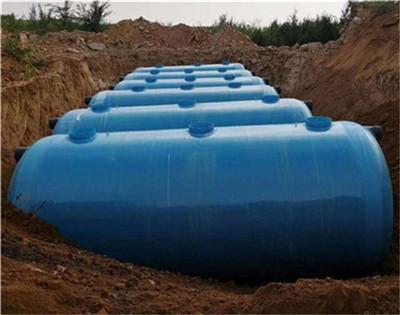 河南玻璃鋼纏繞化糞池施工工程