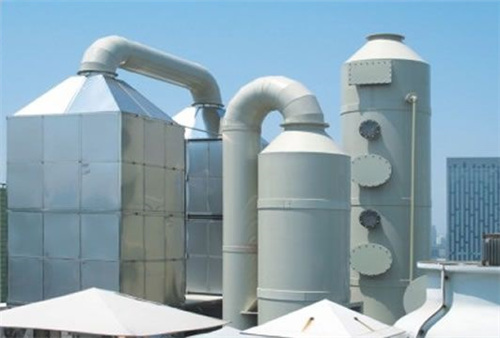 廢氣汙染塔、接收塔