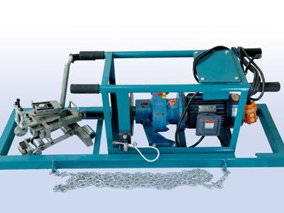 钢丝绳胶带剥头机