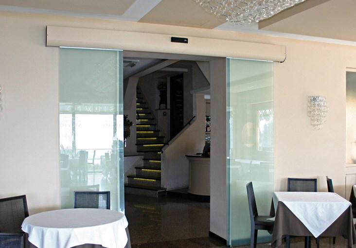 餐厅平移自动门1