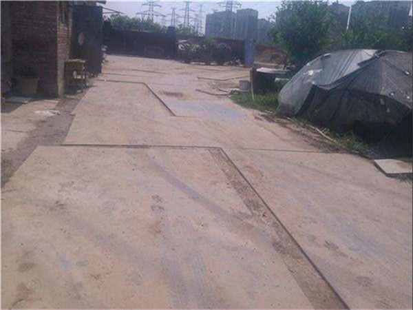 西安建筑钢板租赁公司