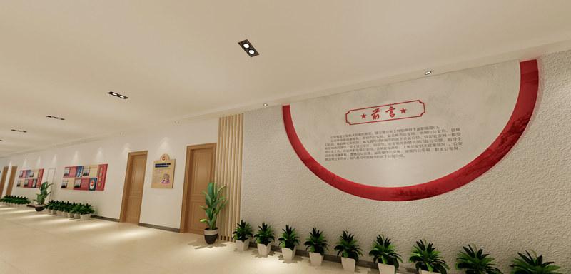 西安文化墙安装