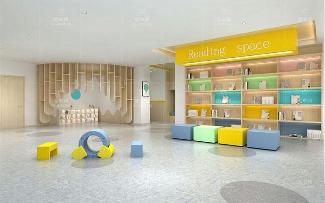 校园阅读大厅设计施工