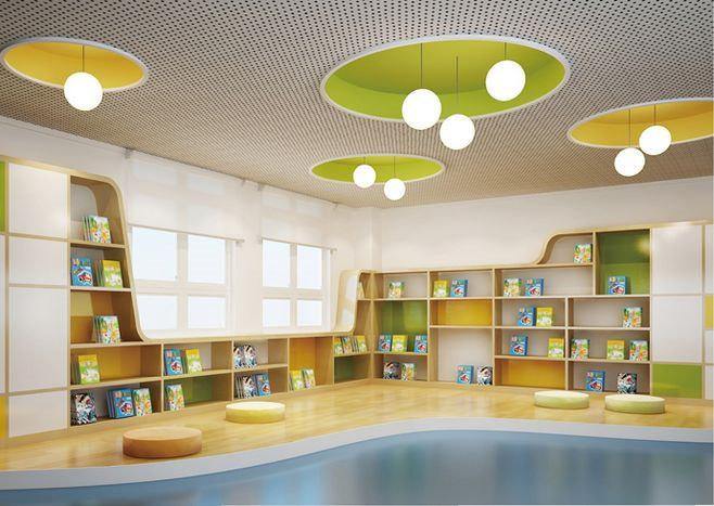 阅读大厅设计