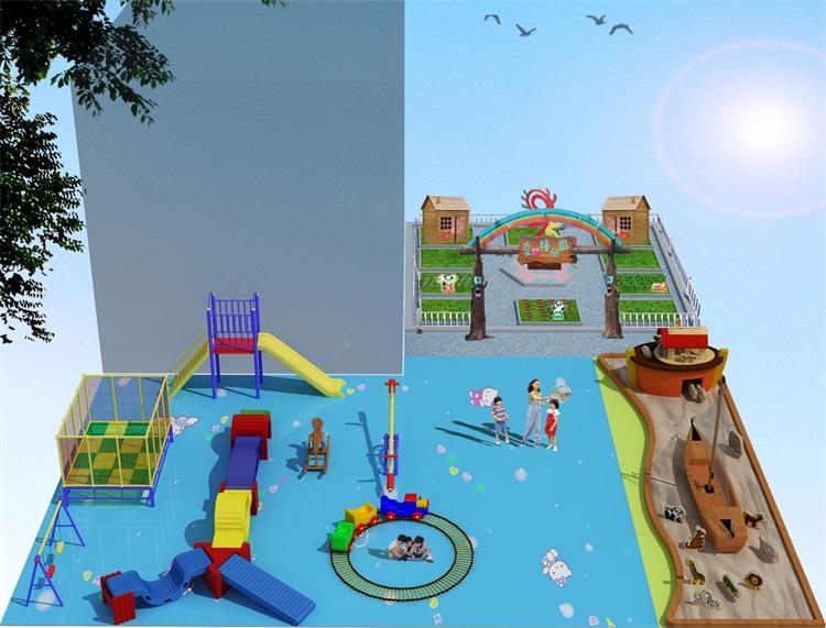 以童心呵护童心——芦山县第二幼儿园设计