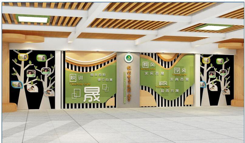 小编向你讲解陕西文化墙设计注意事项有哪些?