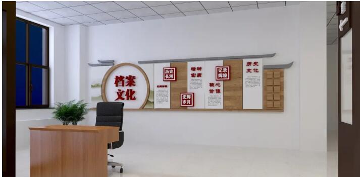 小编向你讲解陕西走廊文化墙?新趋势?