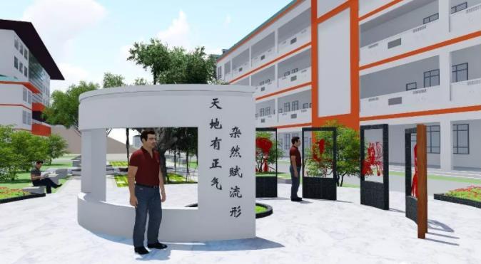新颖环境文化设计向你讲解西安学校文化设计是啥?很多人都没弄明白,看..怎么说。